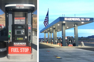 Harmons Fuel Stop with Bennett Pacific Dispensers