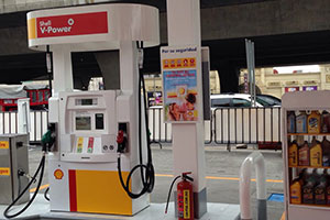 Shell Mexico Gas Station