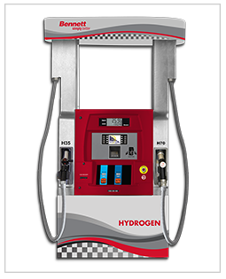 Bennett Hydrogen Alternative Fuel Dispenser